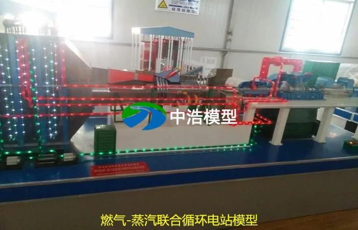 燃气-蒸汽联合循环电站模型
