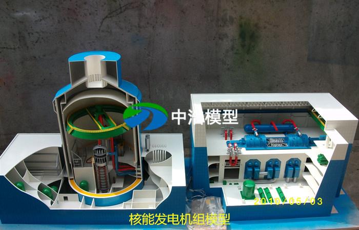 1000MW压水堆核电站整体模型