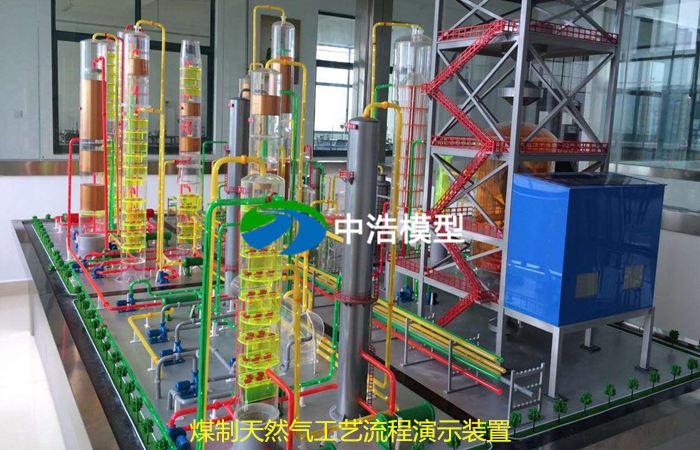 煤制天然气工艺流程演示装置