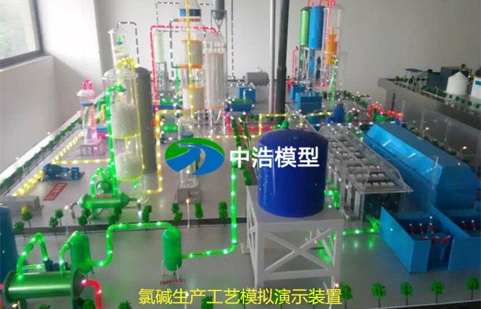 氯碱生产工艺模拟演示装置