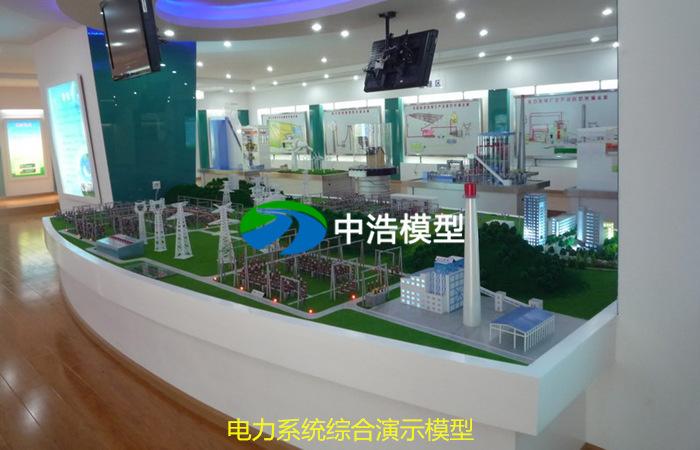 电力系统综合演示模型